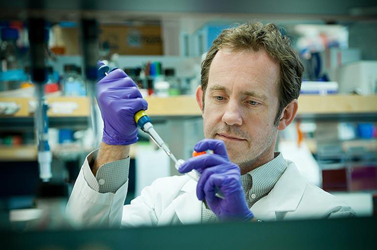 Dr. Matt Farrer is the Canada Excellence Research Chair in Neurogenetics and Translational Neuroscience Photo Credit: Martin Dee